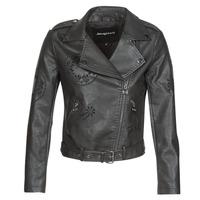 Odjeća Žene  Kožne i sintetičke jakne Desigual UTAH Crna