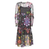 Odjeća Žene  Duge haljine Desigual PORTLAND Multicolour