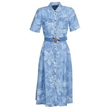 Odjeća Žene  Duge haljine Desigual KATE Blue