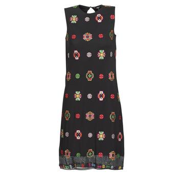 Odjeća Žene  Kratke haljine Desigual TRESOR Crna