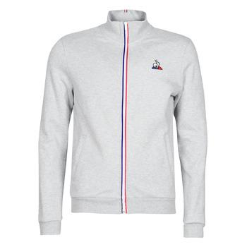 Odjeća Muškarci  Gornji dijelovi trenirke Le Coq Sportif ESS FZ Sweat N°2 M Siva / Raznobojno tkanje