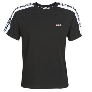 Odjeća Žene  Majice kratkih rukava Fila TANDY Crna