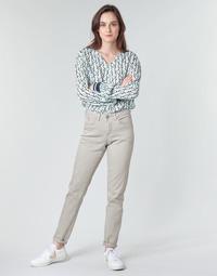 Odjeća Žene  Hlače s pet džepova Cream ANNIE Siva