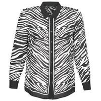 Odjeća Žene  Košulje i bluze Ikks BQ12105-03 Crna / Bijela