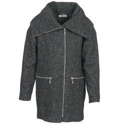 Odjeća Žene  Kaputi Noisy May ROUND Siva / Crna