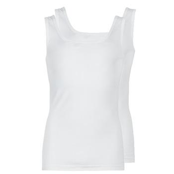 Odjeća Muškarci  Majice s naramenicama i majice bez rukava Athena COTON BIO Bijela