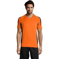 Odjeća Muškarci  Majice kratkih rukava Sols MARACANA 2 SSL SPORT Naranja