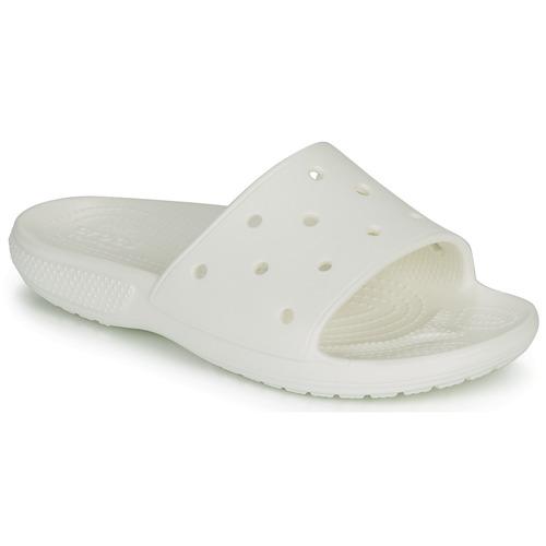 Obuća Sportske natikače Crocs CLASSIC CROCS SLIDE Bijela