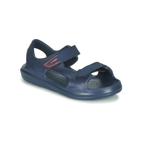 Obuća Djeca Sportske sandale Crocs SWIFTWATER EXPEDITION SANDAL K Blue