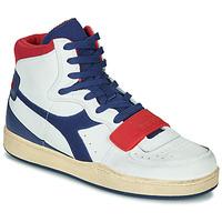 Obuća Muškarci  Visoke tenisice Diadora MI BASKET USED Bijela / Blue / Red
