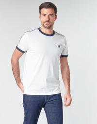 Odjeća Muškarci  Majice kratkih rukava Fred Perry TAPED RINGER T-SHIRT Bijela