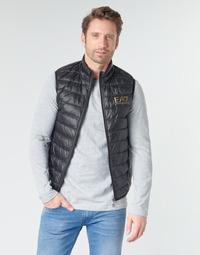 Odjeća Muškarci  Pernate jakne Emporio Armani EA7 CORE ID 8NPQ02 Crna / Gold