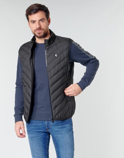 Odjeća Muškarci  Pernate jakne Emporio Armani EA7 TRAIN CORE SHIELD M DOWN LIGHT VEST Crna