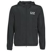 Odjeća Muškarci  Vjetrovke Emporio Armani EA7 TRAIN CORE ID M JACKET Crna