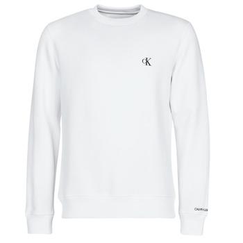Odjeća Muškarci  Sportske majice Calvin Klein Jeans CK ESSENTIAL REG CN Bijela