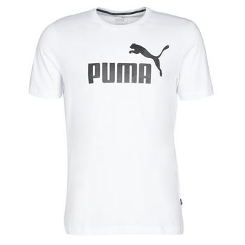 Odjeća Muškarci  Majice kratkih rukava Puma ESSENTIAL TEE Bijela