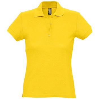 Odjeća Žene  Polo majice kratkih rukava Sols PASSION WOMEN COLORS Amarillo