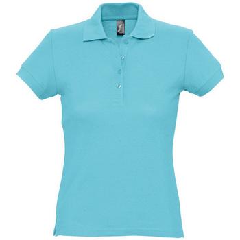 Odjeća Žene  Polo majice kratkih rukava Sols PASSION WOMEN COLORS Azul