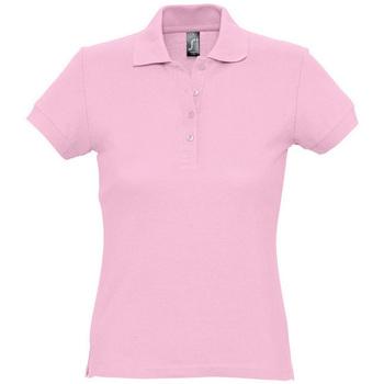Odjeća Žene  Polo majice kratkih rukava Sols PASSION WOMEN COLORS Rosa