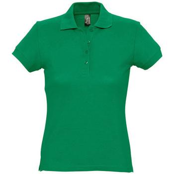 Odjeća Žene  Polo majice kratkih rukava Sols PASSION WOMEN COLORS Verde