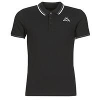 Odjeća Muškarci  Polo majice kratkih rukava Kappa ESMO Crna