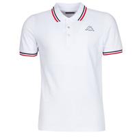 Odjeća Muškarci  Polo majice kratkih rukava Kappa ESMO Bijela