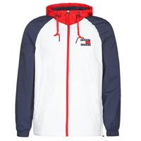 Odjeća Muškarci  Kratke jakne Tommy Jeans TJM COLORBLOCK ZIPTHROUGH JCKT Bijela / Blue / Red