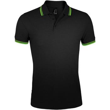 Odjeća Muškarci  Polo majice kratkih rukava Sols PASADENA MODERN MEN Negro