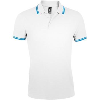 Odjeća Muškarci  Polo majice kratkih rukava Sols PASADENA MODERN MEN Blanco