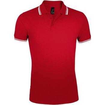 Odjeća Muškarci  Polo majice kratkih rukava Sols PASADENA MODERN MEN Rojo