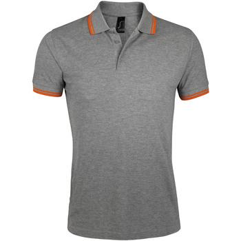 Odjeća Muškarci  Polo majice kratkih rukava Sols PASADENA MODERN MEN Gris