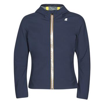 Odjeća Muškarci  Kratke jakne K-Way JACK BONDED Blue