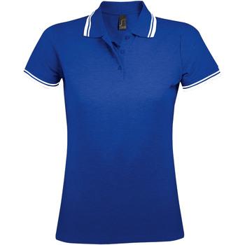 Odjeća Žene  Polo majice kratkih rukava Sols PASADENA MODERN WOMEN Azul