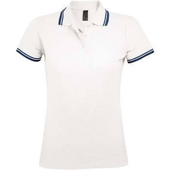 Odjeća Žene  Polo majice kratkih rukava Sols PASADENA MODERN WOMEN Blanco