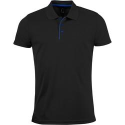 Odjeća Muškarci  Polo majice kratkih rukava Sols PERFORMER MEN SPORT Negro