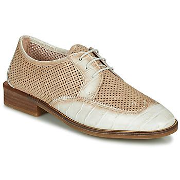 Obuća Žene  Derby cipele Hispanitas LONDRES Bež / Bijela