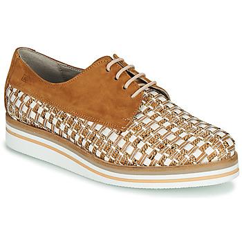 Obuća Žene  Derby cipele Dorking ROMY Smeđa / Bijela