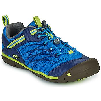 Obuća Dječak  Sportske sandale Keen CHANDLER CNX Blue / Zelena