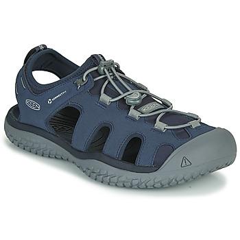 Obuća Muškarci  Sportske sandale Keen SOLR SANDAL Blue / Siva
