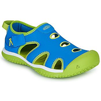 Obuća Djeca Sportske sandale Keen STINGRAY Blue / Zelena