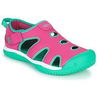 Obuća Djevojčica Sportske sandale Keen STINGRAY Ljubičasta / Blue