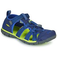 Obuća Djeca Sportske sandale Keen SEACAMP II CNX Blue / Zelena