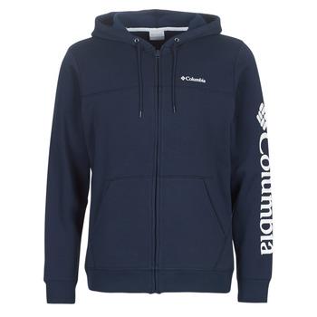 Odjeća Muškarci  Sportske majice Columbia COLUMBIA LOGO FLEECE FULL ZIP Blue