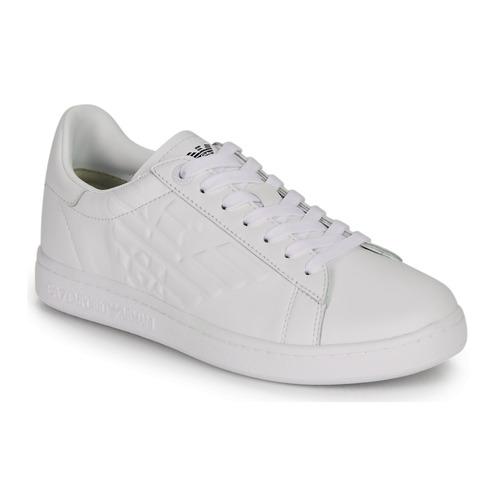 Obuća Muškarci  Niske tenisice Emporio Armani EA7 CLASSIC NEW CC Bijela