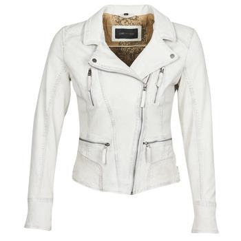 Odjeća Žene  Kožne i sintetičke jakne Oakwood CAMERA Bijela