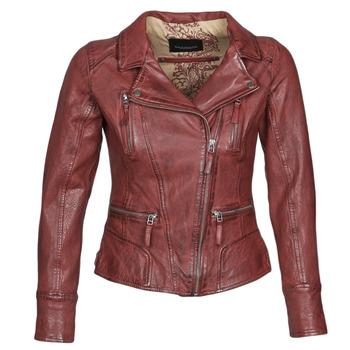 Odjeća Žene  Kožne i sintetičke jakne Oakwood CAMERA Red