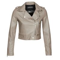 Odjeća Žene  Kožne i sintetičke jakne Oakwood YOKO Mastic / (taupe)