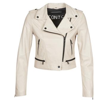 Odjeća Žene  Kožne i sintetičke jakne Oakwood YOKO Ivory