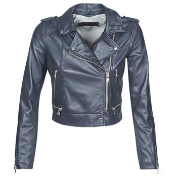 Odjeća Žene  Kožne i sintetičke jakne Oakwood YOKO Blue