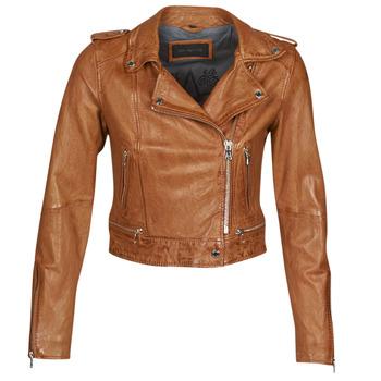 Odjeća Žene  Kožne i sintetičke jakne Oakwood KYOTO Boja konjaka